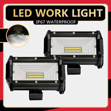 5Inch 72W LED Car Work Light Bar Flood Beam Fits SUV Boat  Offroad ATV 4x4 Lamp