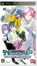 USED PSP Digimon World Re: Digitize Bandai namco entertainment F/S Japan Import