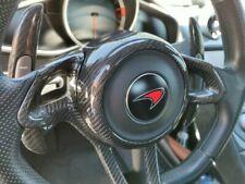 McLaren MP4-12C 650S 675LT 570S 570GT 600LT 720S P1 Carbon Fiber Steering Cover
