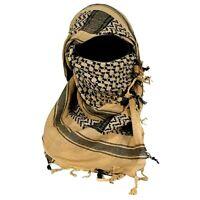 Chèche shemagh beige état neuf Armée Anglaise foulard écharpe keffieh kaki clair