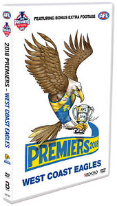 BRAND NEW AFL Premiers 2018 - West Coast Eagles : Grand Final DVD R4