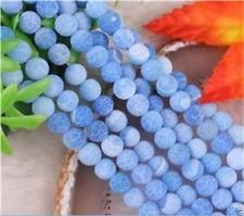 "beautiful! 6mm Dream Fire Dragon Veins Agate Loose Beads 14"""