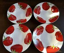 Food Network Tomato Pasta Rim Bowl Set (4)