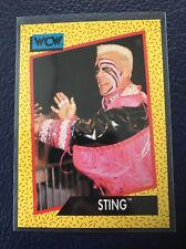 STING  1991 Impel WCW Wrestling Card #12  MINT  Pack Fresh!