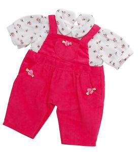Puppendress  Puppenkleidung Shirt Hose Anziehsachen für 46 cm Baby Puppen  B21 6