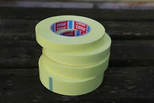 Yellow tubeless rim tape for road , mountain , 27.5+ and Fat bike wheels