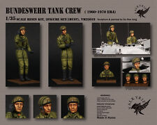 1/35 Scale resin model kit Bundeswehr Tank Crew - 1950 ~ 60 Era