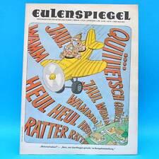 Eulenspiegel 33/1986 | DDR-Wochenzeitung für Satire und Humor | Geburtstag A