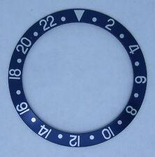 Bezel Insert 16750-2 blue/silver Replacement for Rolex