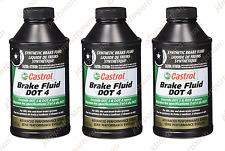 (Set of 3) Brake Fluid Castrol DOT 4 (12 oz.) 12509