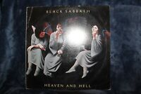 Black Sabbath - Heaven and Hell - LP Vinyl, Ultrasonic Cleaned VG+ Play Tested