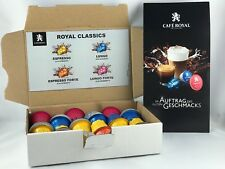 Cafe Royal Welcomepack Classic 4 Sorten je 6 Kapseln =24 Kapseln 10,41�'�/100gr