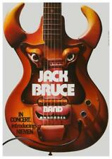 Jack Bruce - POSTER - Live in Germany 1972 Leslie West, Bruce and Laing