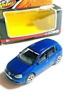 BOXED CORGI WHEELZ METALLIC BLUE VW GOLF DIE-CAST 1:58 SCALE MODEL TY93203 MIB