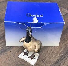 "GOEBEL HUMMEL CANADA GOOSE  8"" TALL 5.5"" LONG BIRD  RARE!!!"