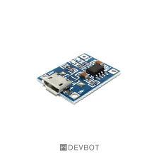 Module chargeur de batterie Li-ion / LiPo Micro-USB. Arduino, DIY, Domotique, Pi
