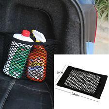 Car Auto Back Rear Trunk Seat String Net Mesh Storage Bag Pocket Cage For BMW