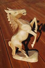 cheval en bois 50cm cheval de bois décoration sculpture Salon