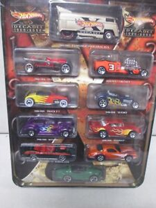 Hot Wheels Decades 1900-2000 with Customized VW Drag Bus