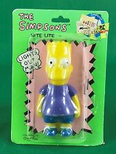 1990 The Simpsons Bart Simpson Plug in Night Lite Nightlite