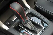 For SUBARU FORESTER XV 2013-2105 Sewing Leather Gear Cover + Hand Brake Cover
