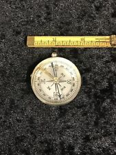 Vintage French Pocket Compass In Good Condition