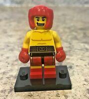 Genuine LEGO Minifigure - Boxer - Complete - Series 5 - col077