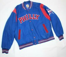 J.W. Nostalgic Negro League Philadelphia Stars Baseball Philly Vintage Jacket