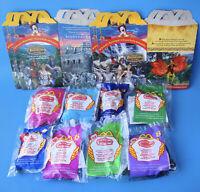 McDonald's Mystic Knights Tir Na Nog Set of 8 + 4 Happy Meal Boxes All MIP! 1999