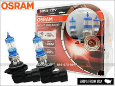 OSRAM NIGHT BREAKER UNLIMITED 9005 Headlight UPGRADE Bulbs  HB3 NBU 60W
