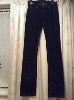 Ladies Duesenberg Designer Jeans Size 8  26/36 Bootcut