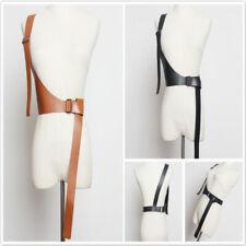 Ladies PU Leather Strap Belt Tide New Girdle Dress Accessory Slim Waist Belt FM