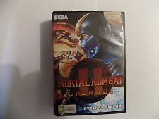 Mortal Kombat ll Sega Genesis Mega Drive.