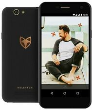 "Wileyfox Spark 5.0"" 4G LTE 8GB Dual Sim Unlocked Android 6.0 Smartphone Black"