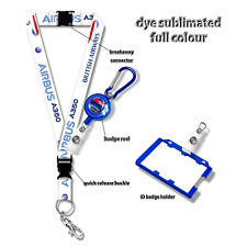 British Airways A350 Lanyard Set