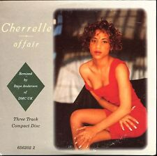 CHERELLE - AFFAIR (REMIXES) - UK CARDBOARD SLEEVE CD MAXI