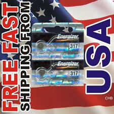 2 Energizer 317 SR516SW SR516 SILVER OXIDE watch battery
