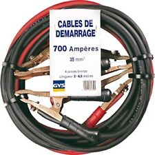 CABLES DEMARRAGE GYS 700A 2x4,5m 35mm² USAGE PRO !