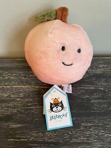 Jellycat I Am Fabulous Peach Amuseable Fruit