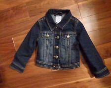 Childrens Place Girls Denim Jean Jacket XS 4