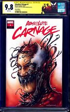 Absolute Carnage #1 BLANK CGC SS 9.8 ORIGINAL SKETCH Gorkem Demir CUSTOM LABEL