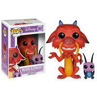 Funko Pop Disney 167 Series 8 Mulan 5898 Mushu & Cricket