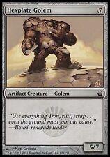 4x Hexplate Golem Mirrodin Besieged MtG Magic Artifact Common 4 x4 Card Cards