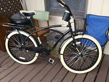 "Huffy 26"" inch Nel Lusso Mens Comfort Beach Cruiser Bike Black"