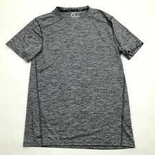 Russell Dry Fit V-neck Shirt Size S Small TRAINING FIT Dri-Power Fitness Run Gym