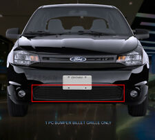 Black Lower Bumper Billet Grille Grill  For Ford Focus Coupe 2008-2011