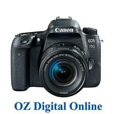 NEW Canon EOS 77D +18-55 STM Lens Kit 24.2MP Full HD DSLR Camera 1 Yr Au Wty