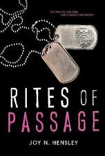 Rites of Passage by Joy Hensley (2014, Hardcover)
