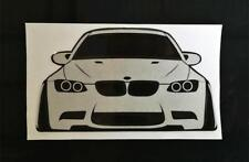 BMW E46 M3 328 330 335 Sticker Decal Coilover Lowering Camber Wide Bodykit Style