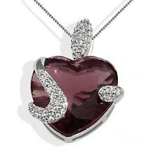 Goldmaid Collier Silber 1 Herz Turmalinfarbener Zirkonia Farbsteine